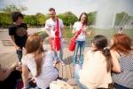 Coca-Cola mini раздали в разных городах России