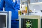 KLM и Heineken начали разливать пиво в небе.