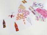 Очередную дизайнерскую серию упаковок представила Coca-Cola в Италии