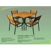 Мебель для летнего кафе (1стол +4стула)