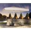 Зонты 3х3 м,  4х4 м - садовые,  рекламные,  пивные для кафе,  ресторанов