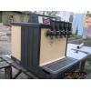 Охладитель для разлива пива из кег на 5 сорта живого пива.  Корнелиус-65