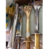 продается  колона метал кобра новая и бу керамика краны заборные головки редуктр455