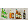 Украинское пиво,  6 заводов,  более 130 позиций пива и соков.