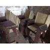 Мебель (лавки и комплект стол и 4 стула) !