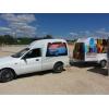 Продам креативный,  прибыльный бизнес на колесах.  Пикап + прицеп .  (возможен обмен)